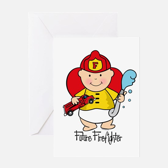 Future Firefighter Greeting Card