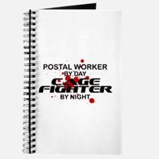 Postal Wrker Cage Fighter by Night Journal