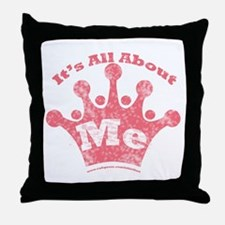 All About Me! Throw Pillow
