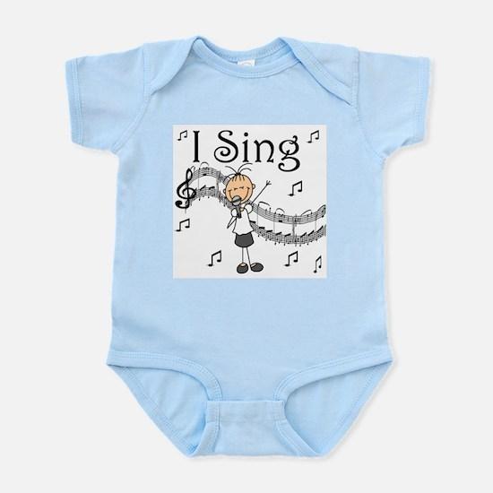 I Sing (FEMALE) Infant Bodysuit