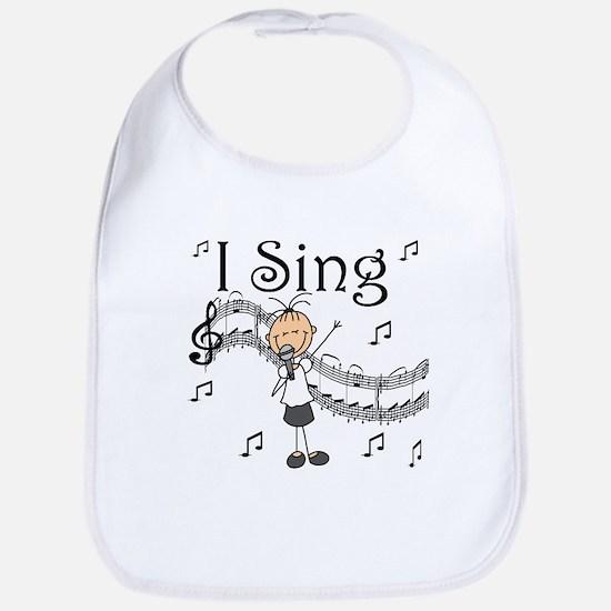 I Sing (FEMALE) Bib