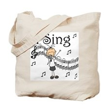 I Sing (FEMALE) Tote Bag