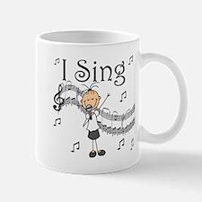 I Sing (FEMALE) Mug