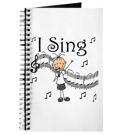 I Sing (FEMALE) Journal