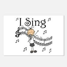 I Sing (FEMALE) Postcards (Package of 8)