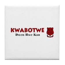 Mfantsipim Kwabotwe Tile Coaster