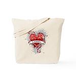 Heart Camel Tote Bag