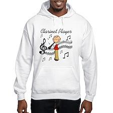 Clarinet Player Hoodie