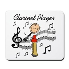 Clarinet Player Mousepad