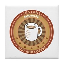 Instant Midwife Tile Coaster