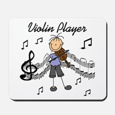 Violin Player Mousepad
