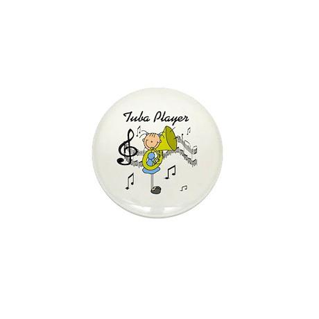 Tuba Player Mini Button (10 pack)