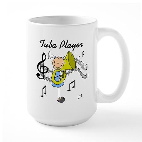 Tuba Player Large Mug