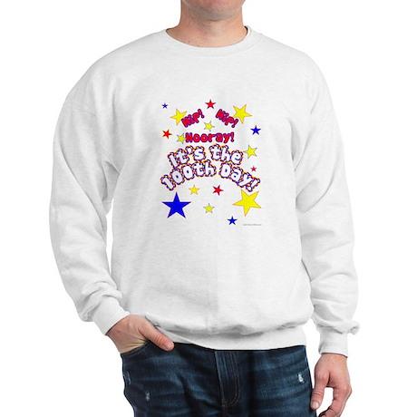 Hip! Hip! Hooray! 100th Day Sweatshirt
