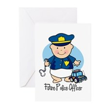 Future Police Officer Greeting Cards (Pk of 20)