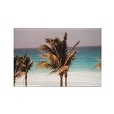 Captivating Cancun Rectangle Magnet