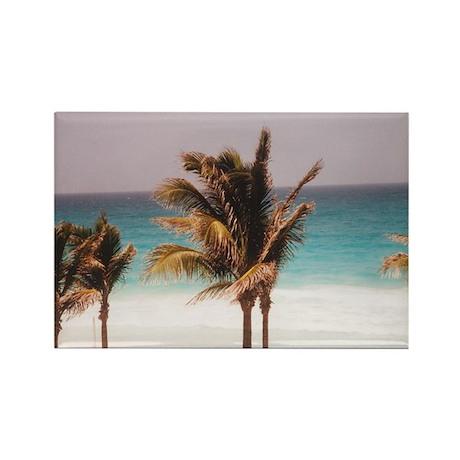 Captivating Cancun Rectangle Magnet