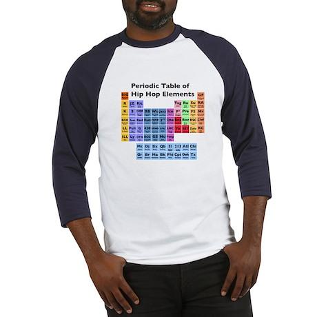 Hip Hop Table of Elements Baseball Jersey