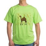 Egyptian Camel Green T-Shirt