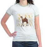 Egyptian Camel Jr. Ringer T-Shirt