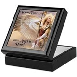 Guardian angels Square Keepsake Boxes