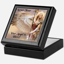 Your Angel is Here Keepsake Box