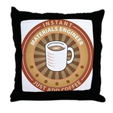 Instant Materials Engineer Throw Pillow
