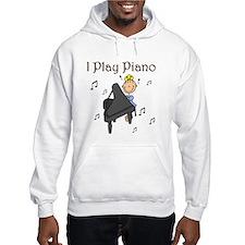 I Play Piano Hoodie