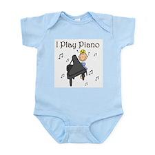 I Play Piano Infant Bodysuit