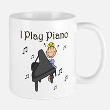 I Play Piano Mug