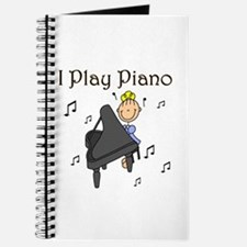 I Play Piano Journal