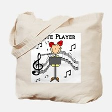 Flute Player Tote Bag