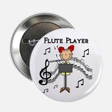 Flute Player Button