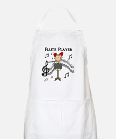 Flute Player BBQ Apron