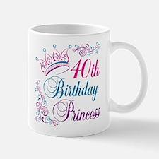 40th Birthday Princess Mug