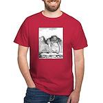 Camel Illustration Dark T-Shirt