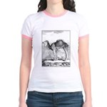 Camel Illustration Jr. Ringer T-Shirt