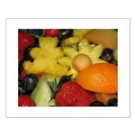 Vivid Fruit Small Poster