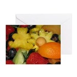 Vivid Fruit Greeting Cards (Pk of 10)