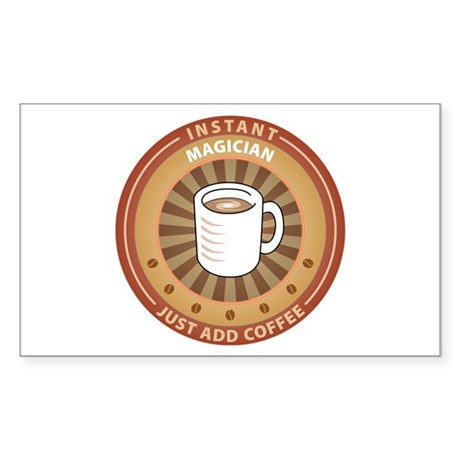 Instant Magician Rectangle Sticker