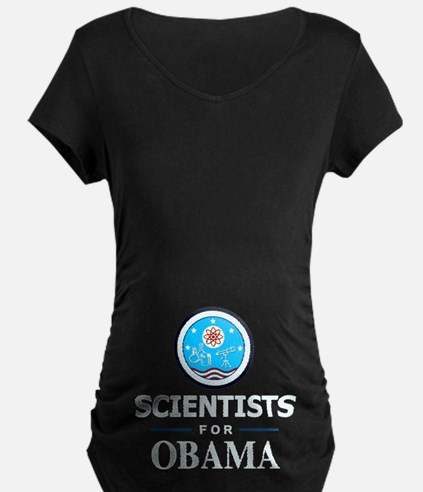 Scientists for Obama T-Shirt