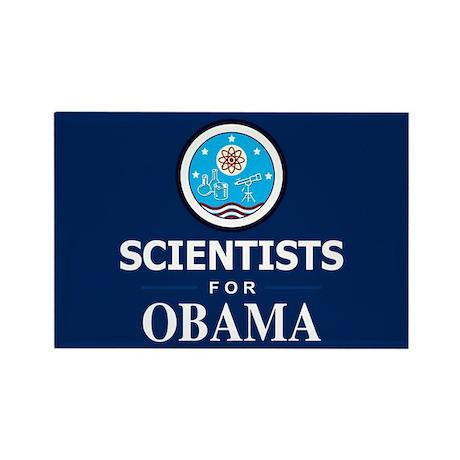 Scientists for Obama Rectangle Magnet (10 pack)