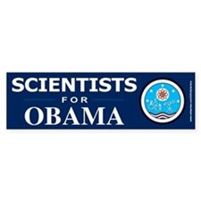 Scientists for Obama Bumper Stickers