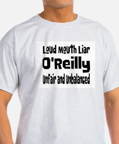 Loud Mouth Liar O'Reilly Ash Grey T-Shirt