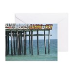 Casino Pier Greeting Cards (Pk of 10)