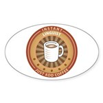 Instant Linguist Oval Sticker (50 pk)
