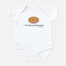 140.6 Daddy Infant Bodysuit