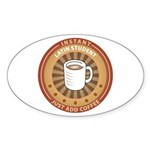 Instant Latin Student Oval Sticker
