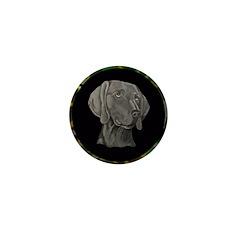 Weimeraner Hunting Design Mini Button (10 pack)