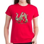 Stylized Camel Women's Dark T-Shirt